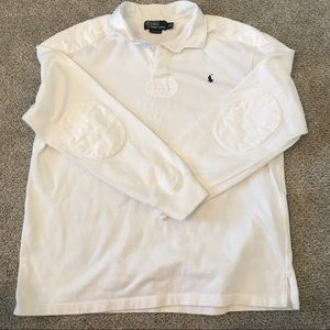 Polo by Ralph Lauren Iconic Rugby Shirt Elbow Ptch